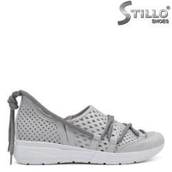 Pantofi dama tip sport din piele naturala - 32462