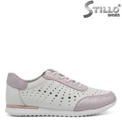Pantofi dama tip sport din piele naturala-32465