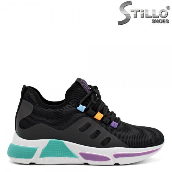 Pantofi dama tip sport cu sireturi - 32473