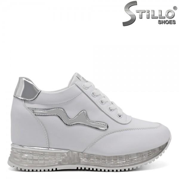 Pantofi dama tip sport cu platorma interioara - 32483