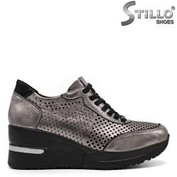 Pantofi dama tip sport cu perforatie - 32486