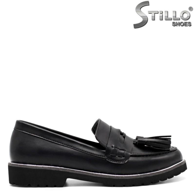 Pantofi dama din piele ecologica - 32487
