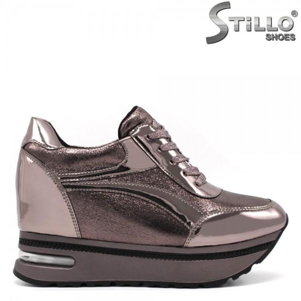 Pantofi dama tip sport cu platforma ascunsa - 32508