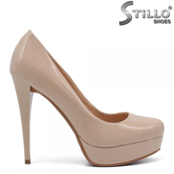 Pantofi dama cu platforma si toc inalt - 32515