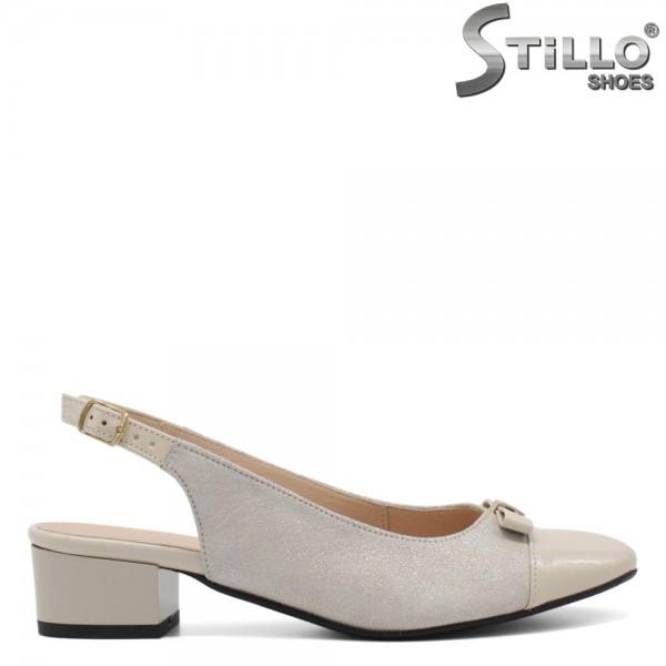Pantofi dama din velur natural - 32521