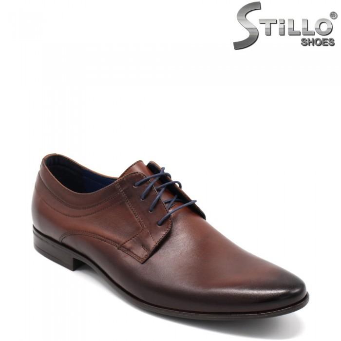 Pantofi barbati eleganti din piele naturala - 32525