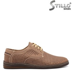 Pantofi barbati cu perforatie - 32529