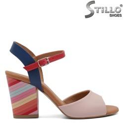 Sandale dama colorate din piele naturala - 32532