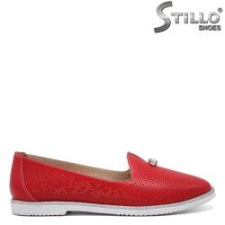 Pantofi dama din piele naturala - 32540