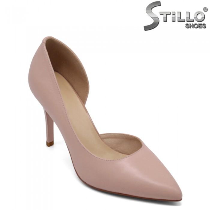 Pantofi dama eleganti din piele naturala - 32542