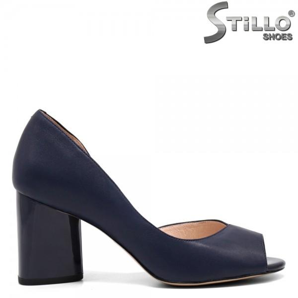 Pantofi dama din piele naturala - 32546