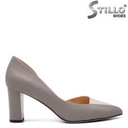 Pantofi dama eleganti din piele naturala - 32551