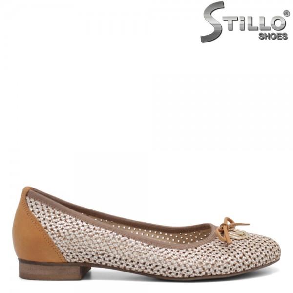 Pantofi dama din piele naturala - 32565