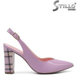 Pantofi dama din piele naturala - 32582