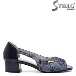 Pantofi dama din piele ecologica - 32584