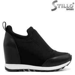Pantofi sport cu platforma ascunsa - 32590