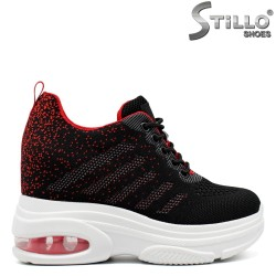 Pantofi dama tip sport cu platforma  - 32593