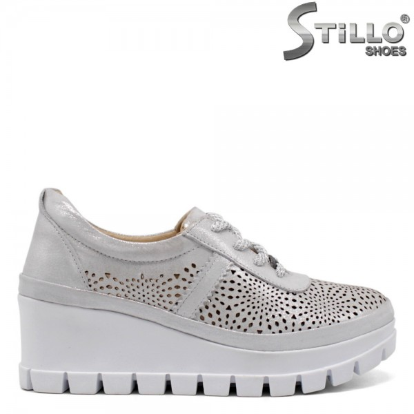 Pantofi dama din piele naturala - 32597
