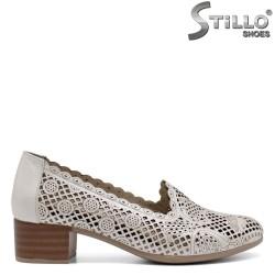 Pantofi dama din piele naturala - 32600