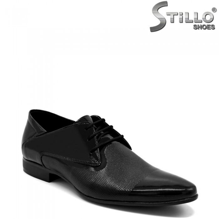 Pantofi barbati de ocazie  din piele naturala - 32603