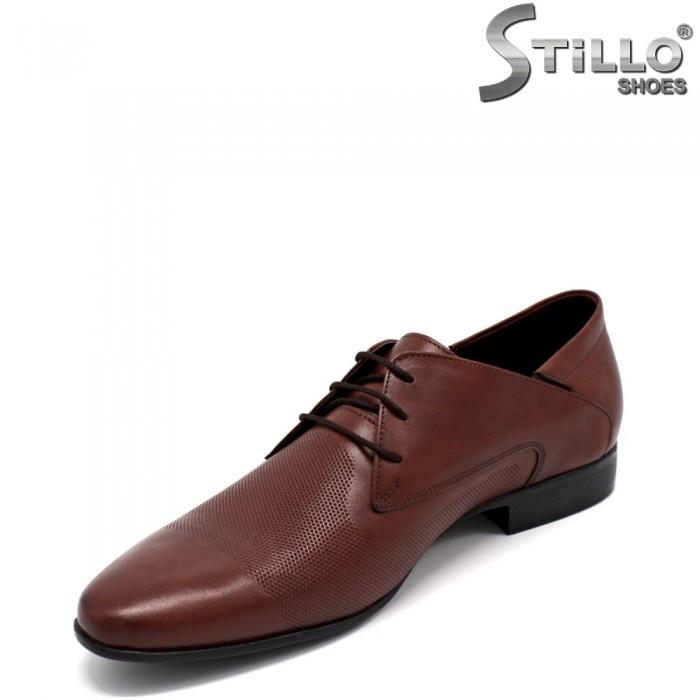 Pantofi barbati eleganti din piele naturala - 32604