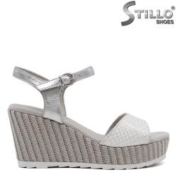 Sandale dama din piele ecologica - 32612