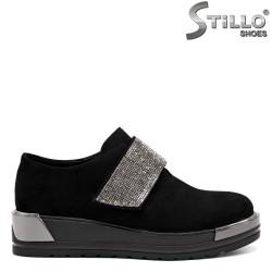 Pantofi dama din velur ecologic - 32616