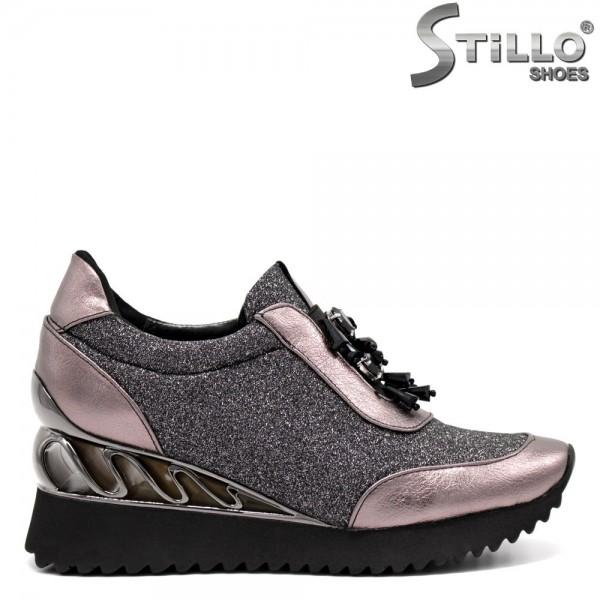 Pantofi sport dama platforma - 32617