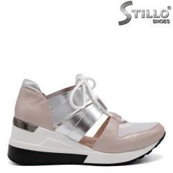Pantofi dama sport din piele ecologica - 32623