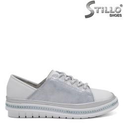 Pantofi dama sport cu sireturi - 32627