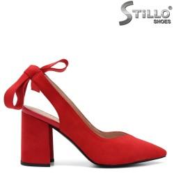 Pantofi dama din velur ecologic - 32630