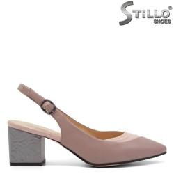 Pantofi dama din piele naturala - 32635