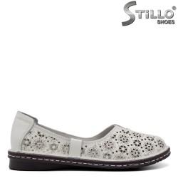 Pantofi dama din piele naturala - 32636