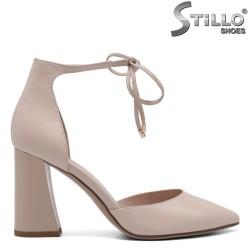 Pantofi dama din piele naturala - 32639