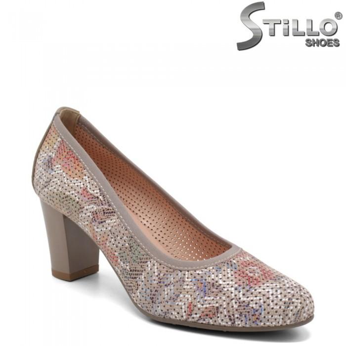 Pantofi dama din piele naturala - 32646