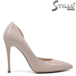 Pantofi dama din piele naturala - 32648