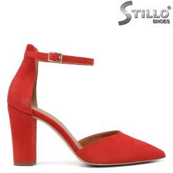 Pantofi dama de culoare coral - 32654