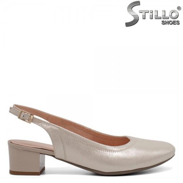 Pantofi dama din piele naturala - 32655