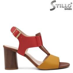 Sandale dama din piele naturala  - 32661