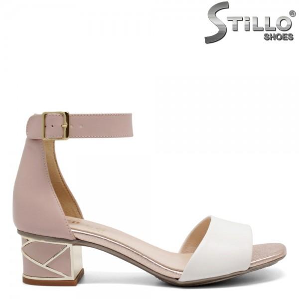 Sandale dama cu toc jos - 32662