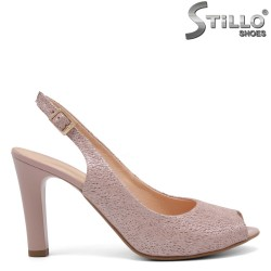 Sandale dama de vara cu partea din fata decupata - 32666