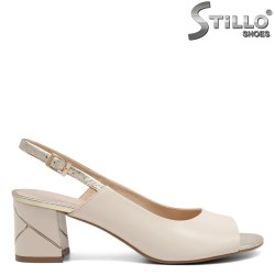 Sandale dama  elegante cu toc - 32668