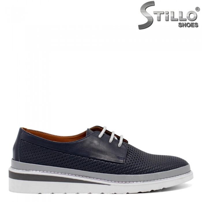 Pantofi dama tip sport cu sireturi - 32697