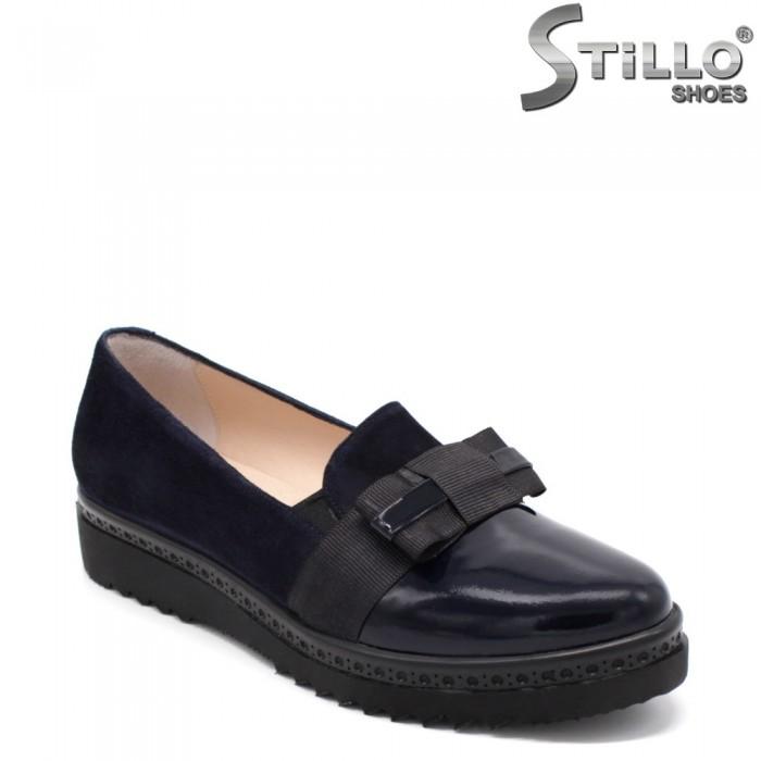 Pantofi dama in velur cu funda- 32698