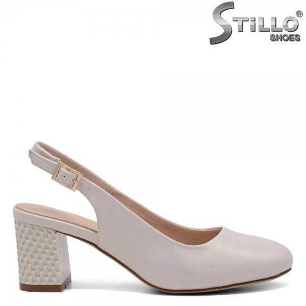Pantofi dama de culoare bej - 32707