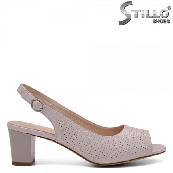 Sandale dama de culoare roz - 32711