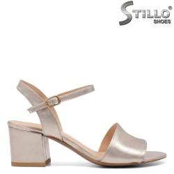 Sandale dama cu toc mijlociu - 32727