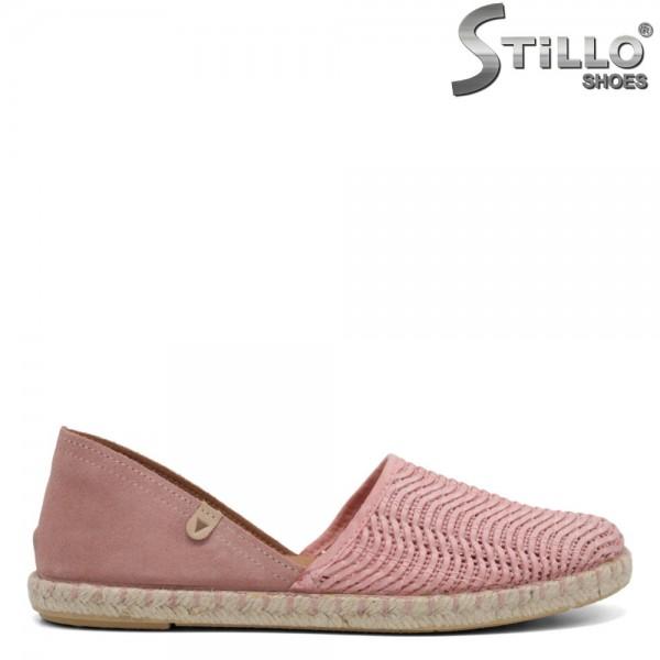 Espadrile dama de culoare roz - 32736