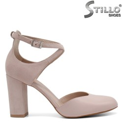 Pantofi dama din piele naturala - 32743