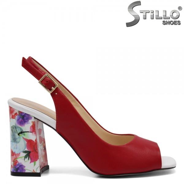 Sandale dama elegante din piele naturala- 32749